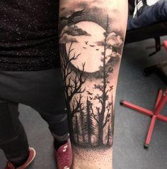 Tatuajes De Paisajes Para Hombres