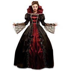 Disfraz de Vampiresa Villana #halloween #disfraces