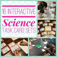 Save 33% on this Science bundle! Includes 16 Task Card Sets (143 pages and 572 cards total). Covers nearly every major concept. Adaptations and Natural Selection; Atoms, Elements and Molecules; Body Systems; Cells; Chemical Equations and Formulas; Ecosystems and Energy Flow; Energy and Energy Transformation; Force and Motion; Genetics; Periodic Table and Atoms; Planet Earth and Plate Tectonics; Science Lab Safety; Scientific Investigation and Process Skills; Earth; Universe/Space; Weather.