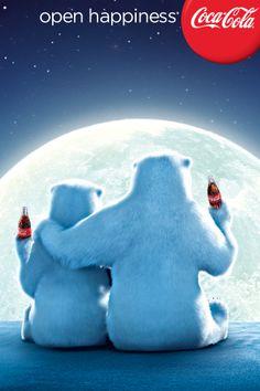 iPhone wallpaper Coca Cola Poster, Coca Cola Santa, Coca Cola Polar Bear, Coca Cola Christmas, Christmas Fun, Christmas Messages, Christmas Poster, Holiday Fun, Vintage Christmas