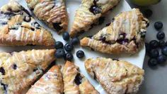 I use my favourite basic scone recipe and adapt it to make these amazing Lemon glazed Blueberry Scones. Quick and easy to make, ready in no time. Easy Food To Make, How To Eat Paleo, Eating Dissorders, Eating Clean, Eating Healthy, Buttermilk Scone Recipe, Basic Scones, Blueberry Scones, Sallys Baking Addiction