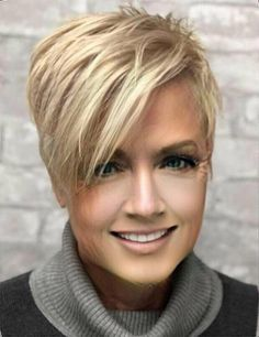 GREAT CUT 10 short hairstyles with a weird pony who are worth the effort to try . - Short HairGREAT CUT 10 short hairstyles with a weird pony who are worth the effort to try them out! Hot Hair Colors, Short Pixie Haircuts, Pixie Haircut Styles, Messy Pixie Haircut, Popular Short Haircuts, Pixie Cut Styles, Edgy Haircuts, Corte Y Color, Sassy Hair
