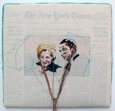 Lauren DiCioccio - Using newspaper and the media to comment on her culture