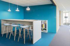 Work lounge Office ERM Antwerp, Belgium by WIES | bureau voor ruimtelijk ontwerp…