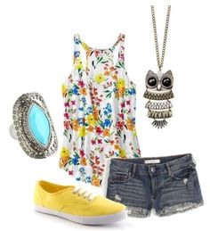 Fashion For Mom - Summer Outfit - She takes Pinterest outfits and makes them actually affordable.  ♥ that I can be fashionable and on a budget! #fashion #style #mom @itsafabulouslife