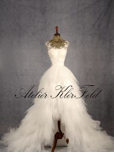 Svatební šaty na míru. Ateliér KlérFeld 2018 Mermaid Wedding, Wedding Dresses, Fashion, Moda, Bridal Dresses, Alon Livne Wedding Dresses, Fashion Styles, Weeding Dresses, Bridal Gown