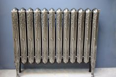Unusual long legged Liverpool radiator with a polished finish. This radiator has been fully restored and is ready to go. Cast Iron Radiators, Ready To Go, Long Legs, Liverpool, Restoration, It Is Finished