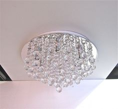 Crystal Chandelier Close To Ceiling Light Pendant Top Quality