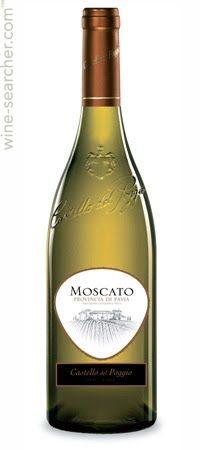 Castello Del Poggio Moscato - best wine I have ever had...from Olive Garden