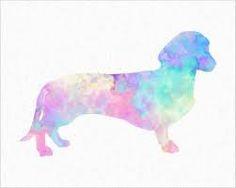 tattoo dachshund watercolor - Pesquisa Google