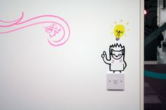 Digital Gurus Office Murals on Behance