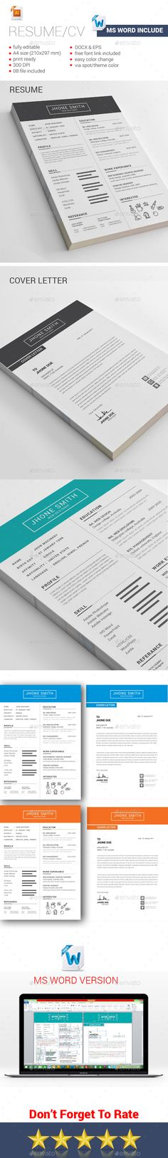 Pin By Pabloperez On Curriculum Vitae    Cv Template