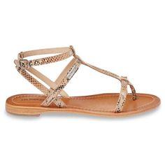Hilan beige Sandale entre doigt cuir les tropeziennes_1