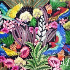 Tropisch paradijs #milliemarotta #tropicalwonderland #fabercastellpolychromos #coloringforadults #tropischparadijs #majesticcoloring