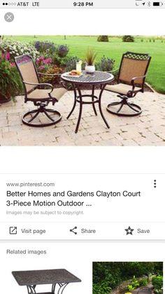 New Garden Ridge Outdoor Furniture
