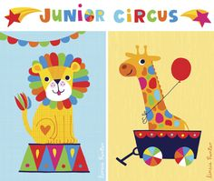 Junior Circus on Behance