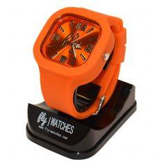 Fly Orgasmic Orange LED Watch 2.0 $40