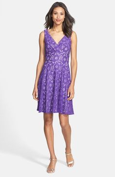 Gabby Skye Lace Fit Flare Dress Available At Nordstrom Bridesmaid Hair Accessories