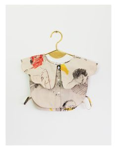 Wolf & Rita Irene Collar Crop Top/Faces