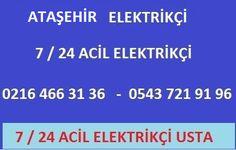 http://www.anadoluelektrikci.com/atasehir-elektrikci.html Ataşehir elektrikçi