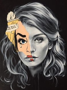 Montreal-based artist Sandra Chevrier is creating some of the best pop art I've seen in quite some time, mixing her own.