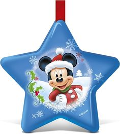 Julgranskula från Disney. Julkula i form av en stjärna, fylld med choklad. Finns i flera färger och motiv. (artnr 4005577)