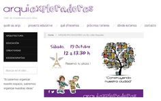 Taller de Arquitectura para niños ARQUIEXPLORADORES Octubre 2013