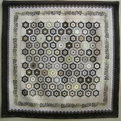 grayscale quilt