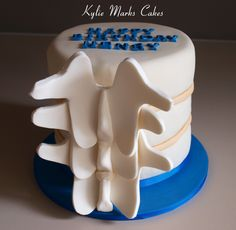 Spine cake
