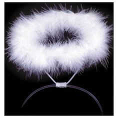 Picture only - Angel Halo: DIY: Duct tape, Pipe Cleaner, fur wrapped around pipe cleaners. Or Make something similar, using a Glow in the Dark Necklace.- for my costume? Angel Halo Costume, Kids Angel Costume, Angel Halloween Costumes, Halloween Outfits, Nativity Costumes, Christmas Costumes, Diy Costumes, Costume Ideas, Holidays Halloween