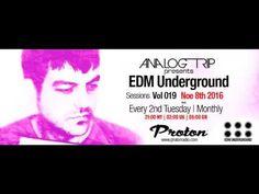Analog Trip @ EDM Underground Sessions Vol 019 www.protonradio.com 8-11-... Tech House, Edm, Einstein, Free
