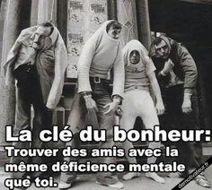 Les amis Demotivateur.fr   La clé du bonheur