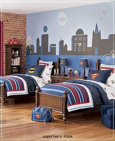 Okay...Time for a makeover for Brody's room...Batman bedroom?