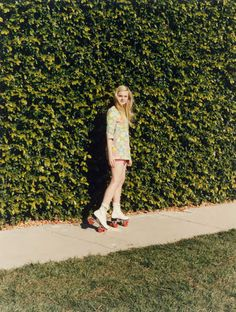 vogueweekend:    ElleFanning photographed by Venetia Scott in Self Service #36