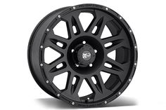 Pro Comp 7005 Black Wheels - Best Price on ProComp 7005 Satin/Flat/Matte Black Rims for Trucks