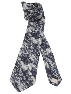 Issey Miyake Men / Abstract Print Tie