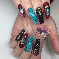 #yvynails #handpainted  #nailspolish #vegas_nay #latina #hudabeauty #latina #nailstyle #nailsofig #anastasiabeverlyhills #nailsmagazine #nailpro #nailit #lanails #losangelesnails #losangelesnailtech #la #losangeles #latina #realtechssupporteachother #inspired #modernsalon