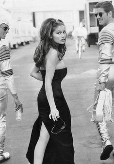 Laetitia Casta, Vogue Editorial, Editorial Fashion, Vintage Vogue, Vintage Fashion, Michaela Bercu, 90s Fashion, Fashion Models, Elegantes Outfit Frau