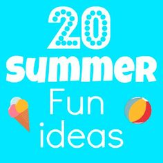 Here's 20 Summer Fun Ideas to keep your kids entertained throughout Summer Summer Fun For Kids, Summer Activities For Kids, Fun Activities, Cool Kids, Summer Daycare, Kids Fun, Summer Sun, Bee Crafts, Kids Crafts