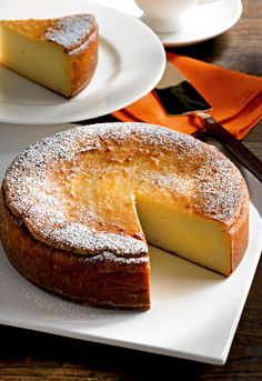 Torta dolce di patate alla sarda Sweet potatoes cake  Buonissima  I will study italian for this!!!