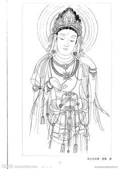 历代观音像02 Chinese Buddha, Chinese Art, Worship Images, Oriental People, Boy Drawing, Sacred Feminine, Buddhist Art, Japanese Painting, Asian Art