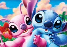 Stitch and Angel <3