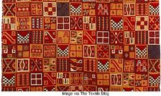 The complex design of this antique tunic would be impressive enough if it were embroidered. In fact, the pattern is woven. Really. It is of pre-Columbian Inca origins