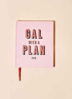 Gal With A Plan 2018 Planner By Valfre | Valfré