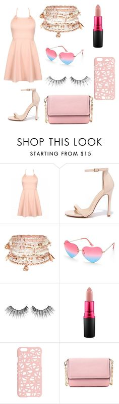 """""""Untitled #10"""" by tamia0315 ❤ liked on Polyvore featuring Liliana, Accessorize, Beauty & The Beach, MAKE UP FOR EVER, MAC Cosmetics and Miss Selfridge"""