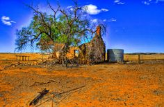 Abandoned Homestead, South Australia Australian Photography, Farm Photography, Landscape Photography, Old Abandoned Buildings, Abandoned Places, South Australia, Australia Travel, Scuba Diving Australia, Old Farm
