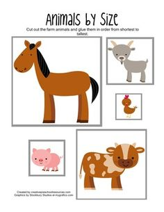 Preschool Farm Pack - Creative Preschool Resources - TeachersPayTeachers.com