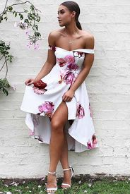 off the shoulder | www.dollygirlfashion.com