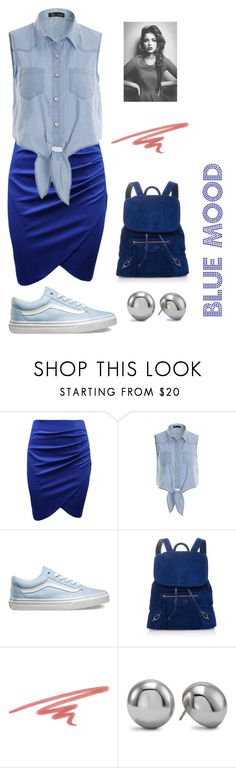 """""""Blue Mood"""" by jazpreet on Polyvore featuring Vans, Balenciaga, NARS Cosmetics, Chico's, women's clothing, women's fashion, women, female, woman and misses"""