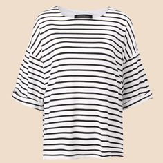 Summer Fashion Striped Tee Tops Tees Casual Loose O Neck Batwing Sleeve T Shirt For Women Clothing Plus Size Blusas